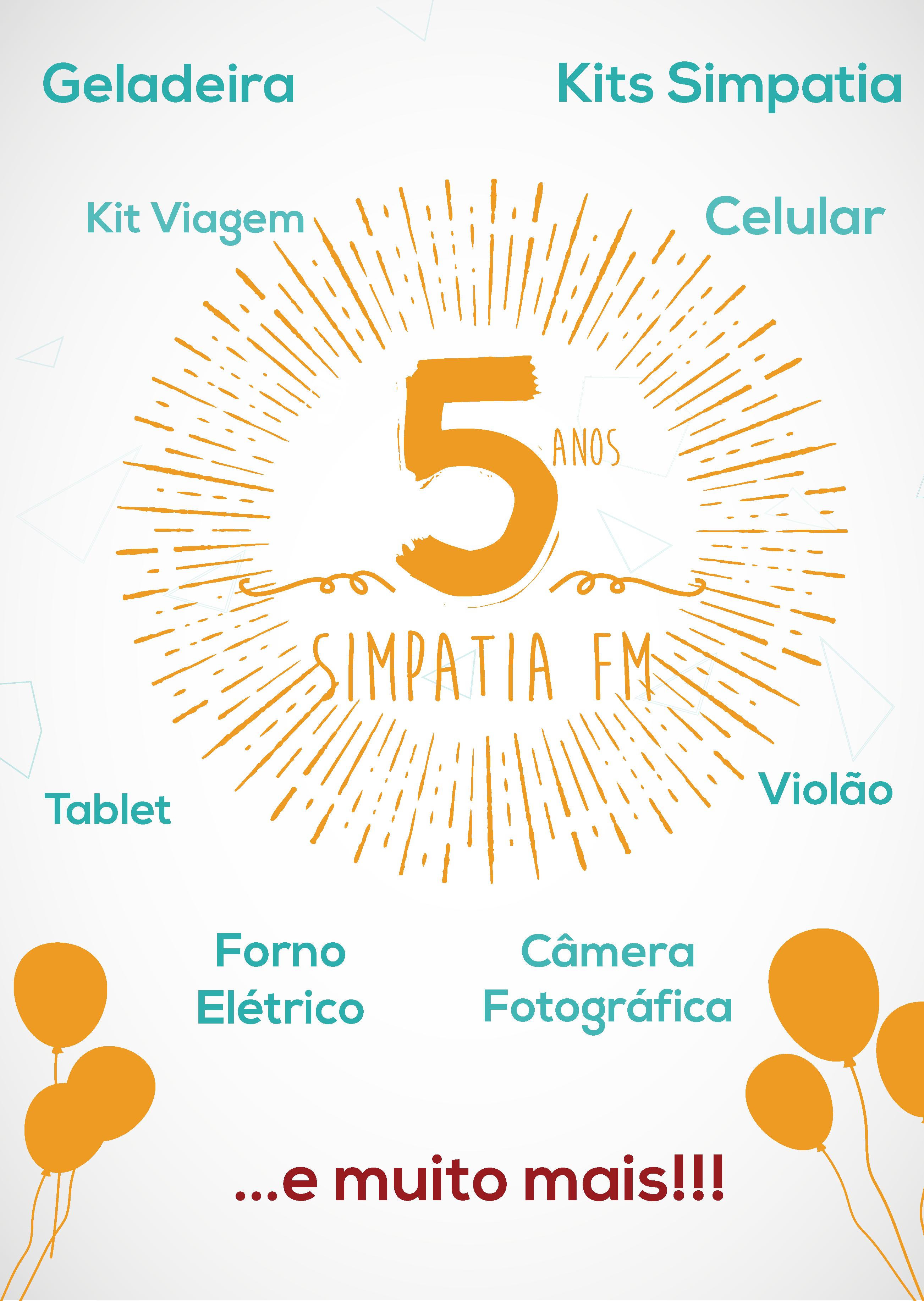 5 ANOS SIMPATIA