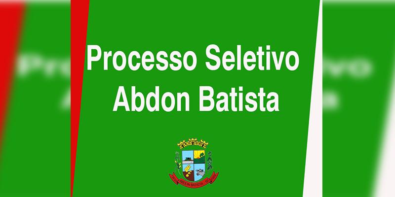 SELETIVO ABDON